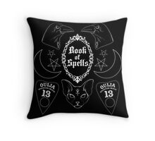 Book of Spells Throw Pillow