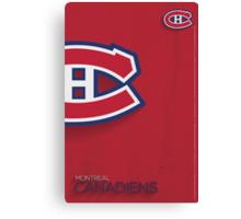Montreal Canadiens Minimalist Print Canvas Print