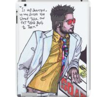 Fight Club #1 Selling Soap iPad Case/Skin