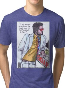 Fight Club #1 Selling Soap Tri-blend T-Shirt