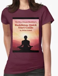 Buddhist Quick Start Guide Womens Fitted T-Shirt