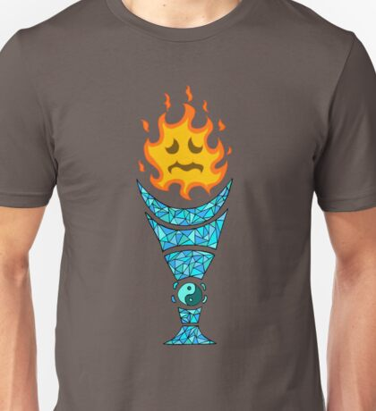Two Elements: Fire Ice Unisex T-Shirt