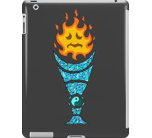 Two Elements: Fire Ice iPad Case/Skin