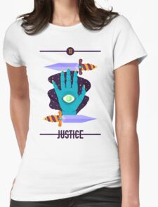 JUSTICE Womens Fitted T-Shirt