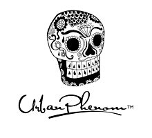 Urban Phenom™ - Day of the Dead Skull by Mike Rocha