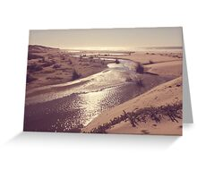 Pacific Haze Greeting Card