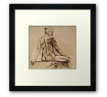 she Framed Print