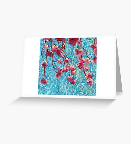 Pastel Blossoms Greeting Card