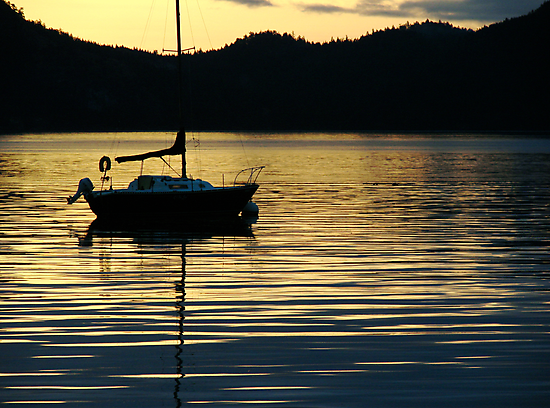 Sunrise on the Sound by Trace Lowe