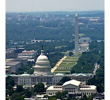 DC From the Air Photographic Print