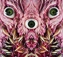 mirrored hagglebeast by dogzillalives