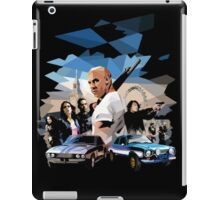 fast and furious iPad Case/Skin