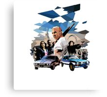 fast and furious Canvas Print