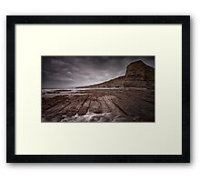 South Wales Heritage coast Framed Print