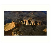 Late Afternoon Light, Grand Canyon Art Print