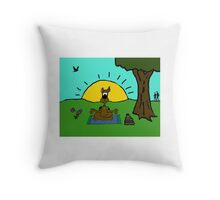 Scooby Be Throw Pillow