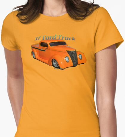 37' Ford P/U Womens Fitted T-Shirt
