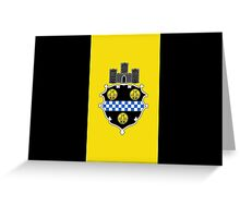 Flag of Pittsburgh  Greeting Card