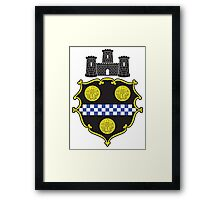 Seal of Pittsburgh Framed Print