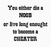 Cheater or Noob? by ilcaliffo