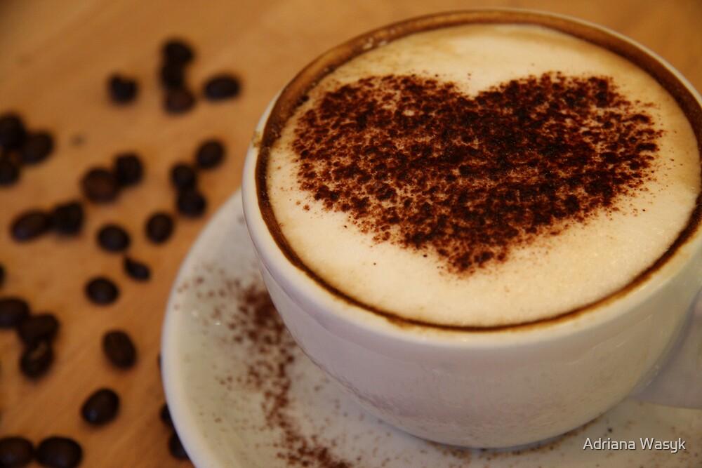 coffee heart by Adriana Wasyk