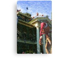 HAUNTED MANSION IMPRESSIONS Metal Print
