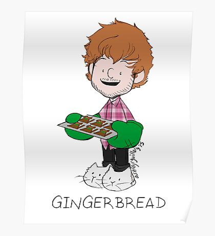 Gingerbread Poster