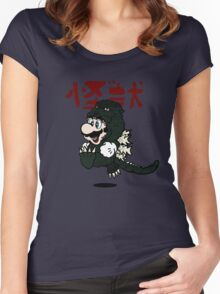 KAIJU SUIT Women's Fitted Scoop T-Shirt