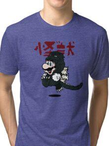 KAIJU SUIT Tri-blend T-Shirt