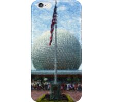 EPCOT IMPRESSIONS iPhone Case/Skin