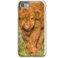 Highland Calf iPhone Case/Skin