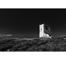 The Ruined Tower Photographic Print