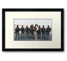 2nd Platoon- Ghost Squad  Framed Print