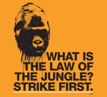 LAW OF THE JUNGLE by opti