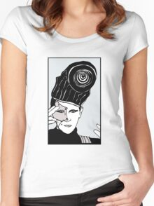 Steve Strange Women's Fitted Scoop T-Shirt