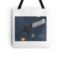 Voyager finally snaps Tote Bag