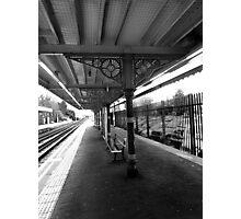 No rush. Photographic Print