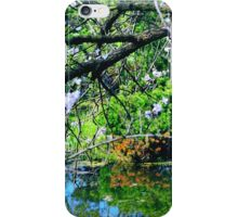 May in a Japanese Garden iPhone Case/Skin