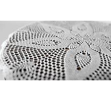 lace doily Photographic Print