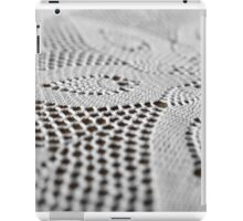 lace doily iPad Case/Skin