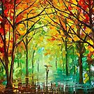 October In The Forest — Buy Now Link - www.etsy.com/listing/229593135 by Leonid  Afremov