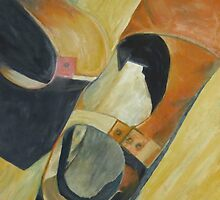 Still life Realistic painted Shoes by ArtPazBiz
