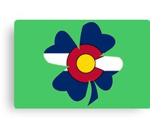 Lucky to be in Colorado Canvas Print