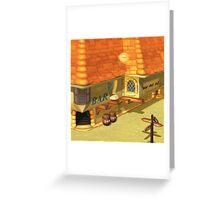 Costa Del Sol Bar Greeting Card