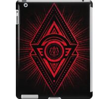 The Eye of Providence is watching you! (Diabolic red Freemason / Illuminati symbolic) iPad Case/Skin