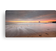 North Berwick West Bay #2 Canvas Print