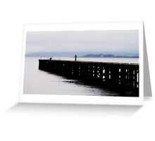 River Clyde - Port Glasgow Greeting Card