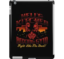 Hell's Kitchen Boxing Gym iPad Case/Skin