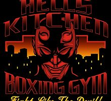 Hell's Kitchen Boxing Gym by popnerd
