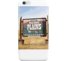 Wildhorse Plains Montana iPhone Case/Skin